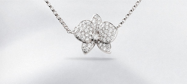 Caresse d'Orchidées <br>par Cartier<br>カレス ドルキデ パル カルティエ